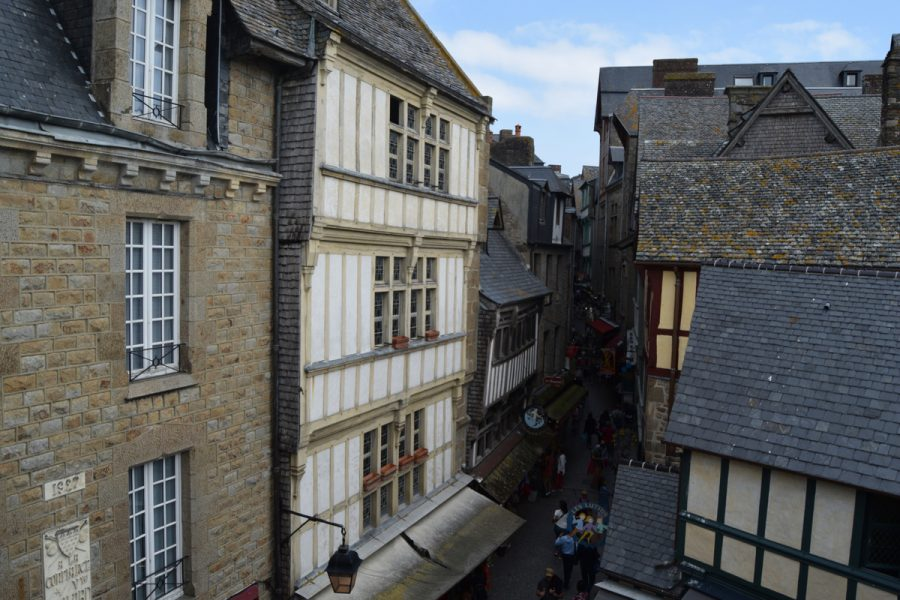 Mont Saint Michel-grande rue