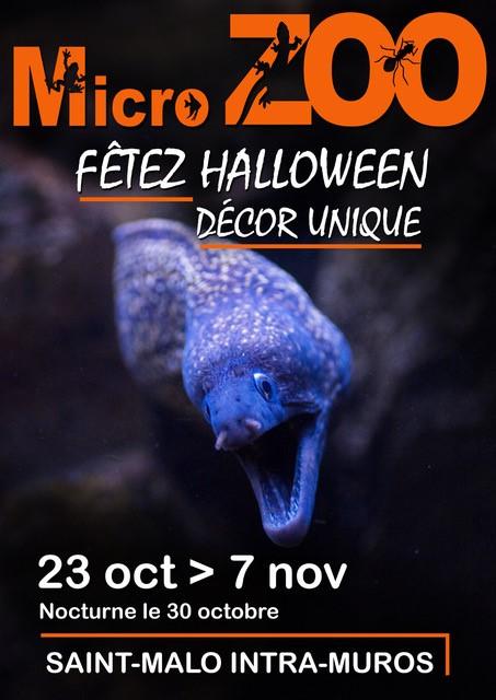 halloween au micro zoo