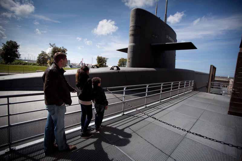 Pole-sous-marin-Redoutable-2-La-Cite-de-la-Mer-B.Almodovar