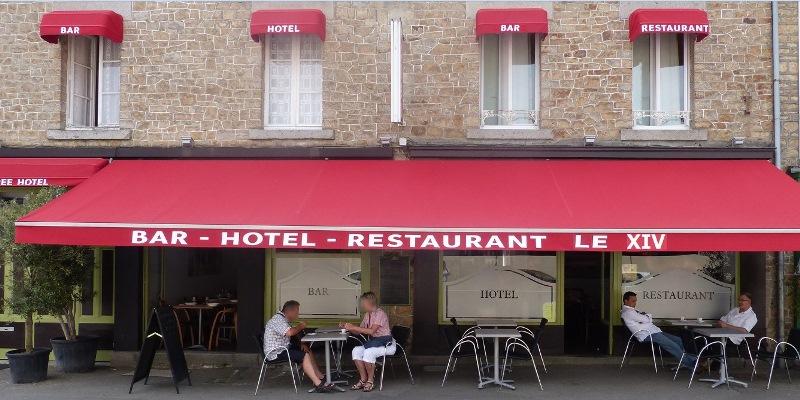 Pontorson-Hotel-Restaurant-le-XIV-facade