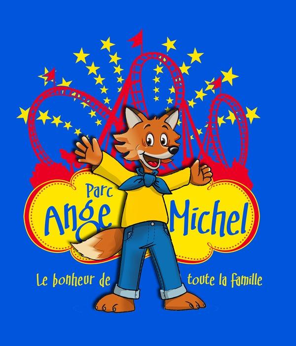 Saint-Martin-de-Landelles-L-Ange-Michel-Mascotte-et-etoiles